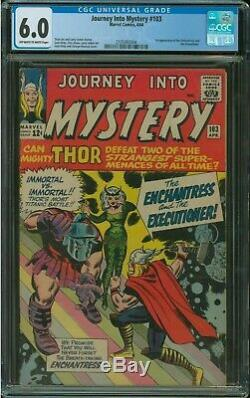 Journey Into Mystery #103 CGC 6.0 1st appearance of The Enchantress, Executioner