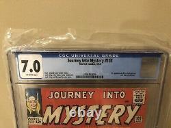 Journey Into Mystery #103 CGC 7.0
