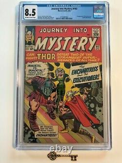 Journey Into Mystery #103 CGC 8.5 OW-W Pages! 1st Enchantress & the Executioner