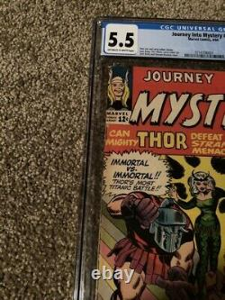 Journey Into Mystery #103 Cgc 5.5 Off-white To White Pgs. 1st App. Enchantress