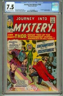 Journey Into Mystery #103 Cgc 7.5 First Enchantress 1964