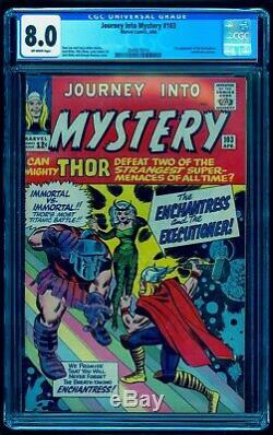 Journey Into Mystery 103 Cgc 8.0 Beautiful Bright Colors No Marks Or Stamps
