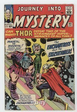 Journey Into Mystery 103 Marvel 1964 VG FN Mighty Thor 1st Enchantress Skurge