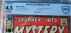 Journey Into Mystery # 103 (cbcs 4.5)