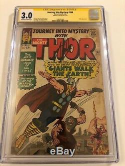 Journey Into Mystery #104 CGC SS Signed by STAN LEE