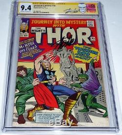 Journey Into Mystery #106 CGC SS 9.4 Signature Autograph STAN LEE Mr. Hyde Cobra