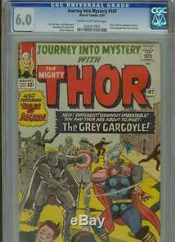 Journey Into Mystery #107 (1st Gargoyle) CGC 6.0 C-OWP