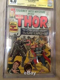 Journey Into Mystery 107 ss cgc 4.0 Signed In Silver. KEY ISSUE.