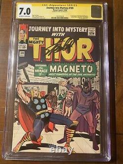Journey Into Mystery #109 10/64 Cgc 7.0 Oww Ss Stan Lee Magneto Scarlet Witch