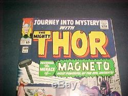 Journey Into Mystery #109 Magneto Newstand Fresh 9.6 Nm+
