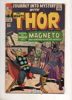 Journey Into Mystery 109 THOR 1ST SCARLET WITCH QUICKSILVER MAGNETO Xover VF 7.0