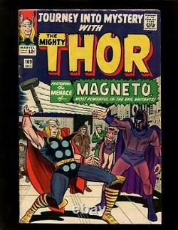 Journey Into Mystery #109 VG+ 1st Magneto X-Over Thor Scarlet Witch Quicksilver