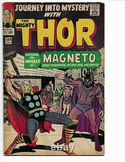 Journey Into Mystery 109 Vg+ 4.5 1st Magneto X-over Scarlet Witch (1964)