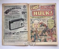 Journey Into Mystery #112 1965 Marvel Comics Hulk Vs. Thor Battle