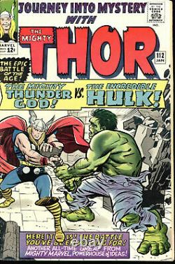 Journey Into Mystery #112 1st Thor Vs Hul K Classic Battle Cover