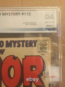 Journey Into Mystery #112 1st Thor Vs Hulk PGX 8.0 Not CGC