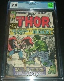 Journey Into Mystery #112 CGC 2.0 Thor Vs. Hulk 112 Graded CBCS