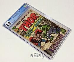 Journey Into Mystery #112 CGC 6.0 KEY (Classic Thor vs. HULK) Jan. 1965 Marvel
