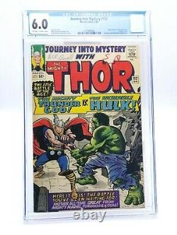 Journey Into Mystery 112 CGC 6.0 OWithW 1965 Classic Thor VS. Incredible Hulk