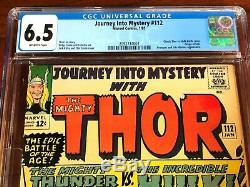 Journey Into Mystery #112, CGC 6.5 (FN+), The Mighty Thor Battles the Hulk
