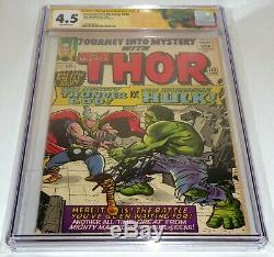 Journey Into Mystery #112 CGC SS Signature Autograph STAN LEE Thor vs Hulk Loki
