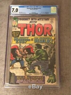 Journey Into Mystery #112 Cgc 7.0 Off-white To White Pages-classic Cover