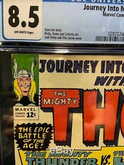 Journey Into Mystery 112 Cgc 8.5