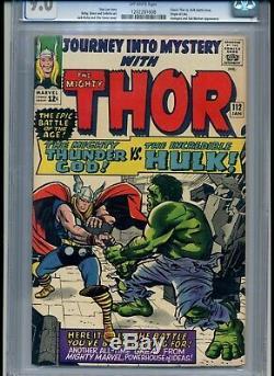 Journey Into Mystery #112 Cgc Graded 9.0 Thor Vs Hulk Classic Battle