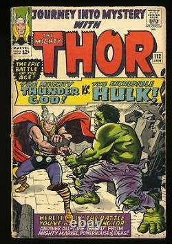 Journey Into Mystery #112 GD+ 2.5 Thor vs Hulk! Marvel Comics Thor