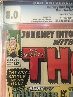 Journey Into Mystery #112 Key Comic Thor vs Hulk Battle CGC Grade 8 VF 1965
