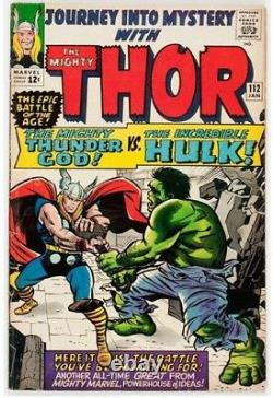 Journey Into Mystery #112 (Marvel, 1965) Condition VG. Hulk vs. Thor