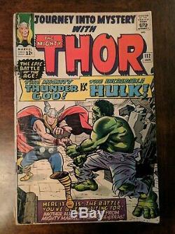 Journey Into Mystery #112 Thor Battles Hulk