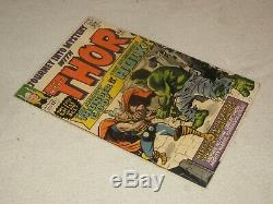 Journey Into Mystery 112 Thor Vs Hulk! Very Nice Copy! Pressed