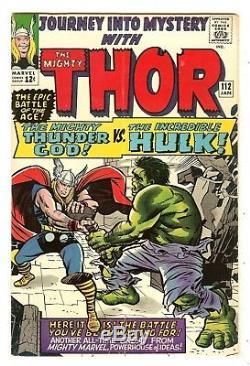Journey Into Mystery 112 Thor vs Hulk