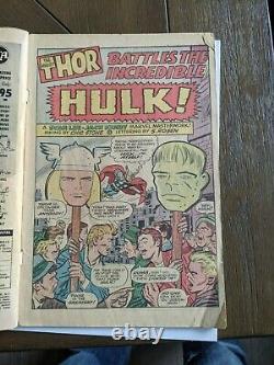 Journey Into Mystery # 112 Thor vs. Hulk & origin Loki G/G+