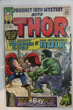 Journey Into Mystery #112, Vg/fn, Thor, Thunder God Vs Hulk Free Shipping