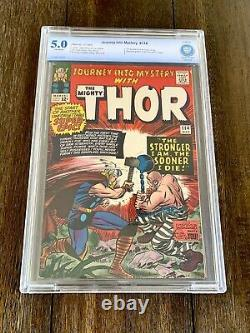 Journey Into Mystery #114 CBCS (5.0) OW Pages 1st App Absorbing Man