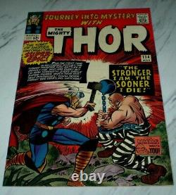 Journey Into Mystery #114 NM- 9.2 White 1965 Marvel 1st Absorbing Man & origin