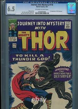 Journey Into Mystery #118 (1st Destroyer) CGC 6.5 OW-WP