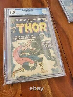 Journey Into Mystery #118 CGC 3.5 1965 1st app. Of the Destroyer