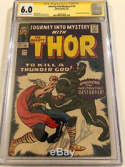 Journey Into Mystery #118 CGC 6.0 SS Signed by STAN LEE
