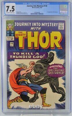 Journey Into Mystery #118 CGC 7.5 1st Appearance Destroyer Kirby art