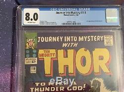 Journey Into Mystery #118 CGC 8.0 Marvel Comic 1st Destroyer MCU Thor Stan Lee