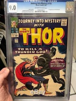 Journey Into Mystery #118 CGC 9.0 VFNM OWithW Pages 1st App. Of The Destroyer