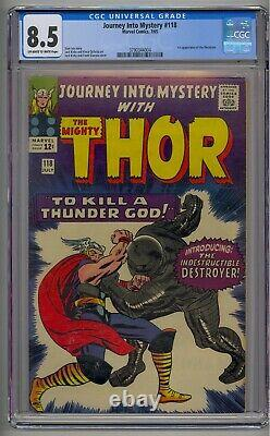 Journey Into Mystery #118 Cgc 8.5 1st Destroyer Thor