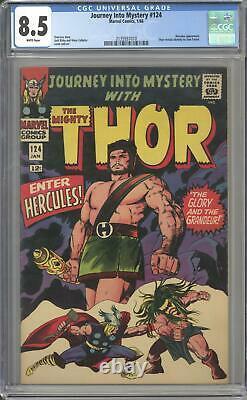 Journey Into Mystery #124 CGC 8.5 (W) Thor Reveals Identity to Jane Foster
