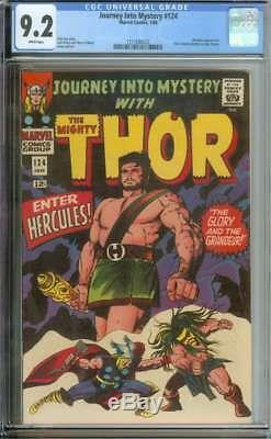 Journey Into Mystery #124 Cgc 9.2 White Pages