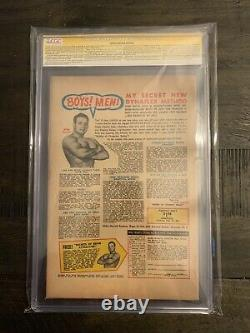 Journey Into Mystery 125 CGC Signed By Stan Lee Thor Marvel