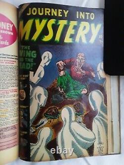 Journey Into Mystery #5-13 1953 Run Golden Age Horror Bound Consecutive Pre-code
