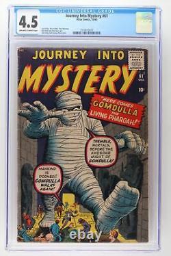 Journey Into Mystery #61 Atlas 1960 CGC 4.5